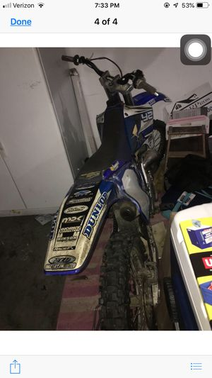 2001 Yamaha 250 two-stroke for Sale in Evansville, IN
