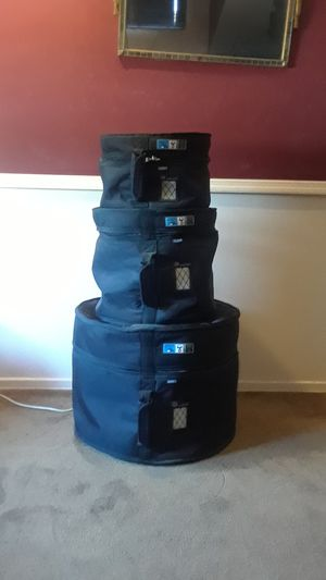 3 protection racket drum bags for Sale in Anaheim, CA