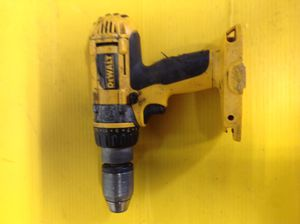 18 V DeWalt Hammer drill works but no battery no charger$49 for Sale in Dearborn Heights, MI
