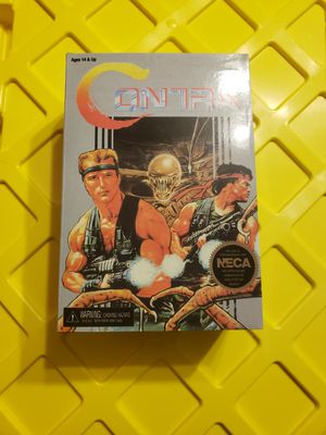 Neca reel toys Contra, 8 bit nes inspired action figures for Sale in Festus, MO