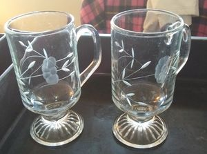 Princess House Crystal Coffee Mugs for Sale in Lynchburg, VA
