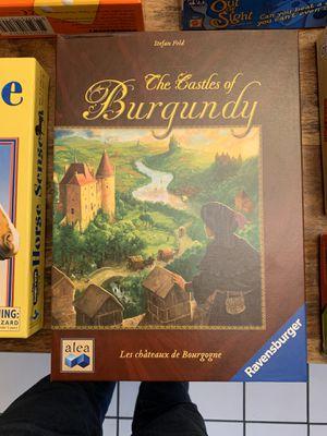 Board Hame - Castles of Burgundy for Sale in Sacramento, CA