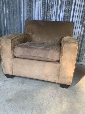 Brown Suede chair for Sale in Marietta, GA