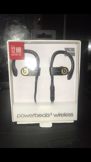 Beats Powerbeats 3 wireless for Sale in Cleveland Heights, OH