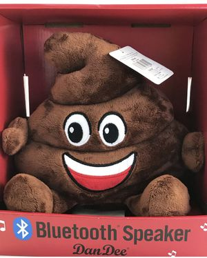 Brand new Brand New Dan Dee Poop Emoji Bluetooth Speaker with Charger Cord (pick up only) for Sale in Franconia, VA