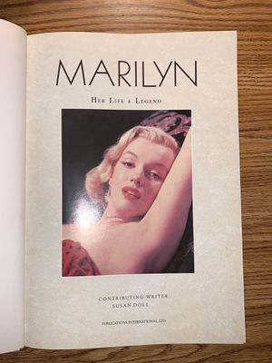 Marilyn book for Sale in Palos Heights, IL