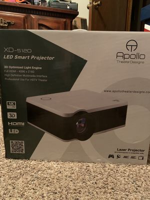 LED smart projector for Sale in Grand Saline, TX