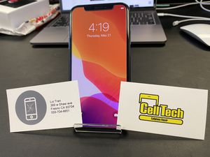 iPhone X unlock 65gig clean for Sale in Fresno, CA