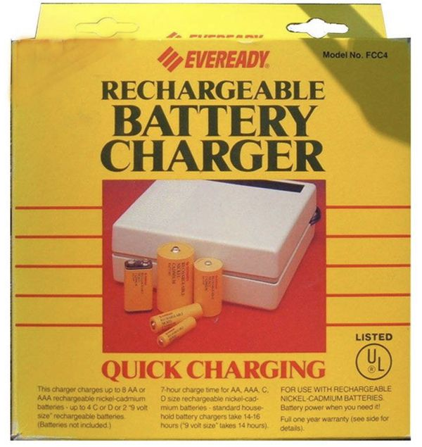 Everready Rechargeable Battery Charger