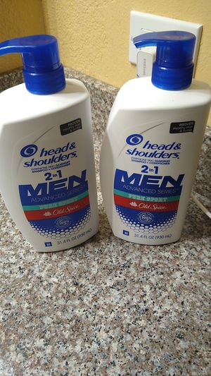 Head and shoulders 2 in 1 men's old spice for Sale in Keizer, OR