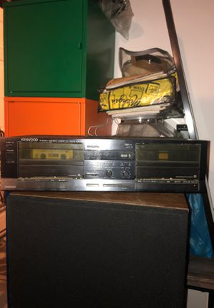KENWOOD 2-cassette tape deck for Sale in Superior Charter Township, MI