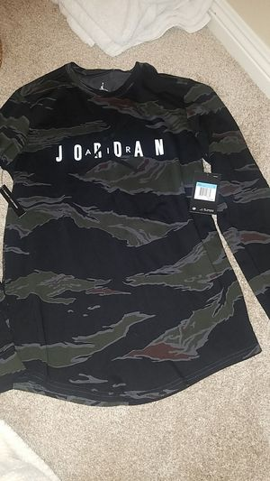 Air Jordan camo long sleeve shirt for Sale in Henderson, NV