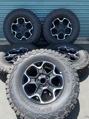 Jeep Wrangler Rubicon Factory Wheels for Sale in Fontana, CA