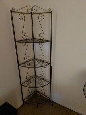 Wrought iron corner shelf for Sale in Hamilton Township, NJ