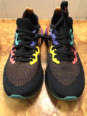Nike Womens Epic React Flyknit 2 Running Shoes Black Ember Glow Size 10 for Sale in Wichita, KS