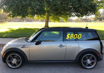 🙏❤$8OO For sale URGENTLY 2009 Mini Cooper S turbo 3-Door Super cute and clean in and out !!🙏💝 for Sale in Arlington,  VA