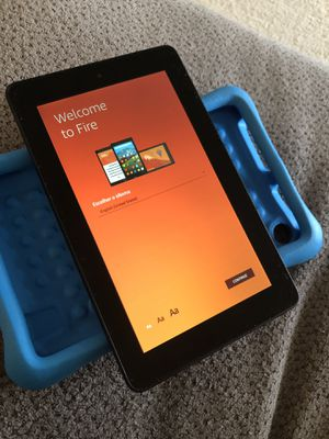 Amazon kindle with blue kids case (2015) for Sale in Frederick, MD