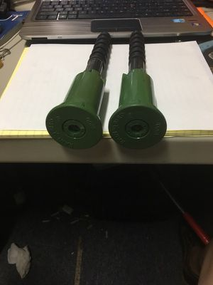 Rain Bird PopupSprinkler Heads And Extensions Series 1800 1/3 Circle And End Strip Lot Of 2 for Sale in Atascocita, TX
