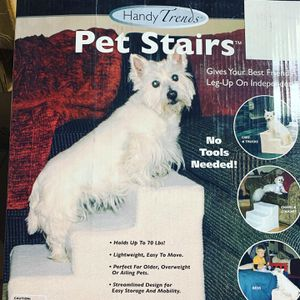 Pet stairs holds up to 70 pounds !! 🐾🐾 for Sale in Los Angeles, CA