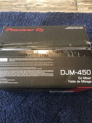 Pioneer DJM-450 2channel dj mixed for Sale in Atlanta, GA