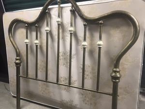 Classic Genuine Brass Headboard (Queen size bed) for Sale in Lawrence, NY