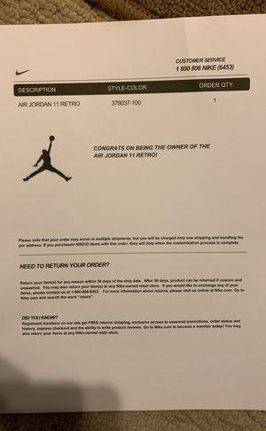 Jordan 11 concords for Sale in Midlothian, VA