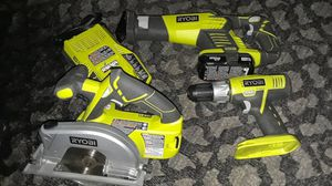 Ryobi Tools 18V New for Sale in Metairie, LA