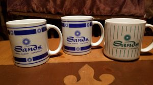 Set of 3 Las Vegas Sands Casino / Hotel Collectible Coffee Mugs for Sale in Chicago, IL