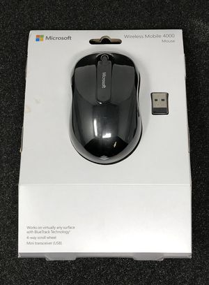 Wireless Mobile Mouse 4000 for Sale in Fairfield, CA