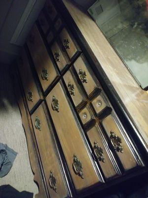 Hand crafted antique dresser for Sale in Denver, CO