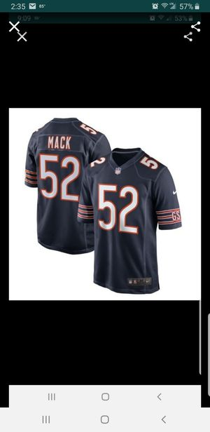 CHICAGO BEARS MACK JERSEY SIZE med n 3xl 100% STITCHED for Sale in Colton, CA