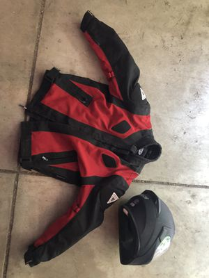 Motorcycle jacket and helmet for Sale in Columbus, OH