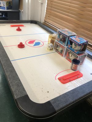 Air Hockey Table and much more moving sale for Sale in Hallandale Beach, FL