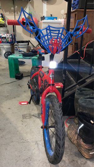 Spiderman huffy bike for Sale in Berryville, VA