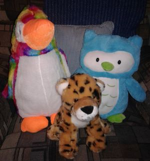 LIKE NEW STUFFED ANIMALS for Sale in Manteca, CA