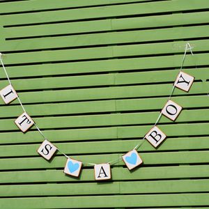 Its a boy banner baby shower party decor for Sale in Rancho Cucamonga, CA