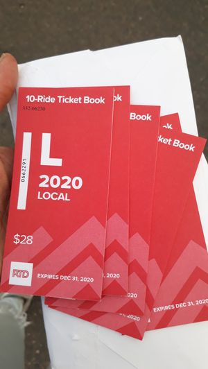 Local bus tickets for Sale in Arvada, CO