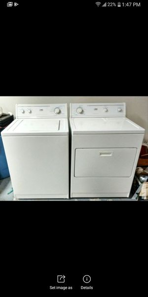 Whirlpool estate washer & dryer for Sale in Dickson, TN