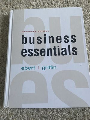 Business Essentials textbook for Sale in Union City, CA