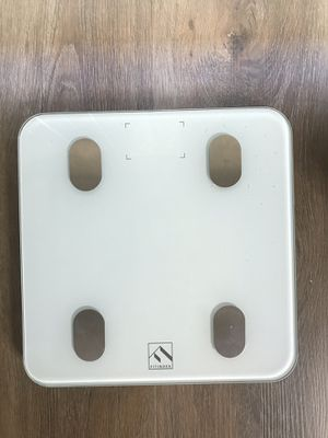 FITINDEX Bluetooth Body Fat Scale with pack of batteries! for Sale in West Hollywood, CA
