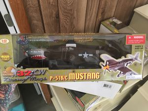 Used, Ultimate Soldier P-51 Mustang, Messerschmitt, Focke-Wulf. All special edition and unopened 1:32 scale $100 a model for Sale for sale  Oakdale, PA