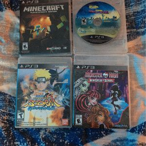 4 PS3 Video Games for Sale in Chesapeake, VA