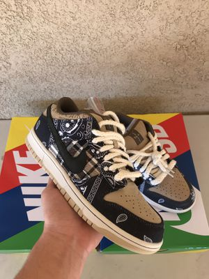 Nike SB Dunk Low Travis Scott 100% Authentic deadstock with Original receipt for Sale in San Diego, CA