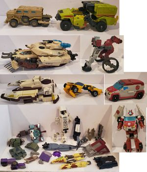 Transformers Lots of Parts & Pieces Brawl, Ratchet, Bumble Bee, Digger, Some HTF for Sale in Tampa, FL