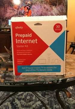 XFINITY PREPAID WIFI PAY AS YOU GO INTERNET KIT for Sale in Romulus,  MI