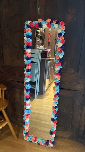 Decorated Over Door Mirror for Sale in Indianapolis, IN