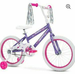 New Huffy 18-Inch Sea Star Girls Bike , Purple Metallic Gloss for Sale in Pasadena, CA