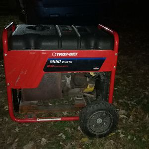 Troy built 5500 Watt Generator for Sale in Peoria, IL