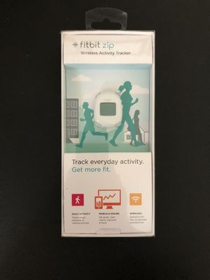 NEW - fitbit zip - Wireless Activity Tracker - White for Sale in Carlsbad, CA