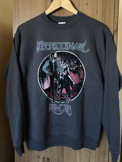 Fleetwood Mac Rumours Crewneck Sweater Pullover Charcoal Gray Size Small NEW for Sale in Lawndale,  CA